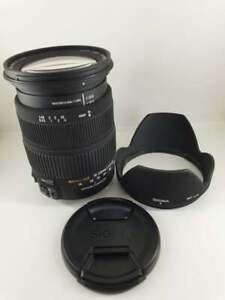 Sigma Dc 18-200 MM F/ 3.5-6.3 OS Lens For Sigma Cameras By Dealer