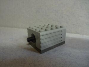 LEGO- Technic -- 2838c01 -- Motor  9V 5 x 4 x 2 1/3 (1990-2002) -- Grau/OldGray