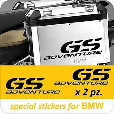 BMW MOTORCYCLE R1200GS/F800GS/GSA L/R.PANNIERS/CASES DECAL/STICKERS.!!