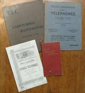 Catalogues de la Société Industrielle des Téléphones