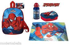 Spiderman zaino zainetto 3D,asilo,scuola,set portamerenda 31/7
