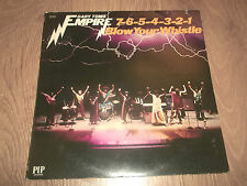 "GARY TOMS EMPIRE "" 7-6-5-4-3-2-1 BLOW YOUR WHISTLE "" FUNK VINYL LP EX/VG+ G/FOLD"
