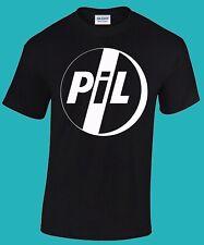 PIL T-shirt  (Public Image Ltd, Smiths, Sex Pistols, Wire, The Cure, Devo)