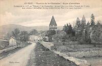 CLUNY - Chemin de la Chanaise - Murs d'enceinte