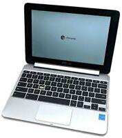 "ASUS Chromebook Flip C100P 10.1"" Touch Laptop Rockchip RK3288 4GB RAM 16GB eMMC"
