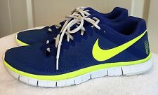 Mens NIKE FREE 3.0 Blue/Yellow Athletic Training Running Shoes SIZE 10 - EUR 44