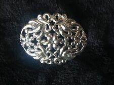 BIRKS Sterling Silver Large Brooch