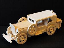 VITAGE CAR FORD V8 - 3D Wooden Model Puzzle - Construction kit