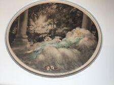 Louis Icart, La Belle au Bios Dormant (Sleeping Beauty) Original Etching