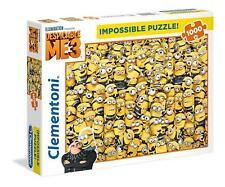 Despicable Me 3 Minions Impossible 1000 Pcs Jigsaw Puzzle Adults Xmas Gift