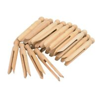 48 Pcs  Natural Wooden Dolly Pegs Washing clothes Peg - Cleaning  Kids Craft Art