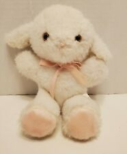 Eden White Lamb Floppy Baby Plush Lovey Stuffed Animal Vintage