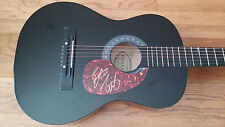 EASTON CORBIN SIGNED ACOUSTIC GUITAR A LITTLE MORE COUNTRY THAN THAT ROLL WITH