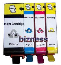4 INK CARTRIDGES FOR HP 920XL HP OfficeJet 6000 6000W 6500 6500P 7000 7500A