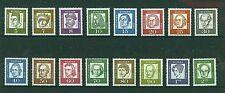 ALEMANIA/RFA WEST GERMANY 1961-1964 MNH SC.824/839