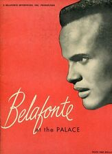 Harry Belafonte At The Palace Millard Thomas Clarence Williams 1959 Program