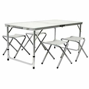 4ft Catering Camping Heavy Duty Folding Portable Picnic BBQ Party Table