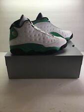 EARLY PAIR 9/26/20 AIR JORDAN 13 RETRO DB6537 113 LUCKY GREEN MENS SZ 8 W/BOX!