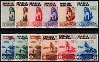 Colonie - Somalia - 1934 - Mostra d'Arte Coloniale - serie usata - Sassone S.38