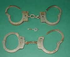American Munitions Co Handcuffs Chicago Smith Wesson with Key Lot of 2