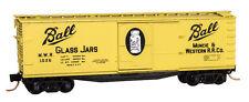 Muncie & Western 40' Double Sheathed Wood Boxcar Single Door MT#04200030 N-Scale