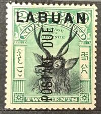 More details for north borneo. labuan. posted due stamp. p13½x14. sg d1. 1901. #ts154
