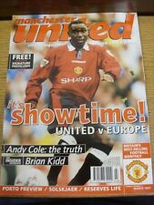 Mar-1997 Manchester United: Official Magazine Vol.05 No.03 - Andy Cole Cover Ima