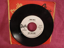 Margie Mills, What About Mine / Look Who's Crying On My Shoulder, Groove 58-0059