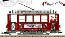 LGB 72351 Christmas Trolley Starter Set G Scale Model Trains Railroads