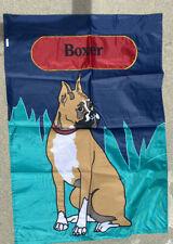 New listing Boxer Dog Yard Flag Large