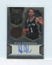 KYLE ANDERSON 2014-15 Panini Select Rookie Jersey Autographs Auto #D /199