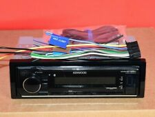 Kenwood KMM-BT322 Single DIN Bluetooth MP3 Digital Media Car Stereo Receiver