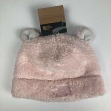 The North Face Baby Infant Bear Ears Beanie 2T - 3T  PURDY PINK MSRP $26