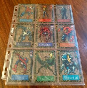 Spider-Man 1994 1st Edition - Fleer - Limited Trading Cards