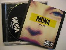 "MADONNA ""MDNA WORLD TOUR"" - 2 CD"