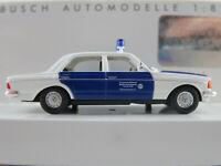 """Busch 46870 Mercedes-Benz W 123 Lim. (1976) """"THW Bremen-West"""" 1:87/H0 NEU/OVP"""