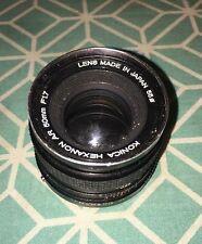 Konica 50mm F/1.7 Hexanon AR  Mount Lens