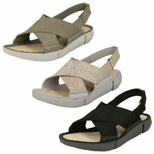 2eee10f2b0ed Clarks Platforms   Wedges 100% Leather Sandals for Women for sale