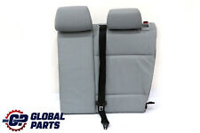BMW 1 SERIES E87 Rear Seat Cover Leather Backrest Left N/S Alaskagrau Grey