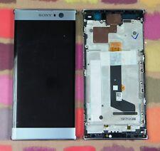 GENUINE SILVER SONY XPERIA XA2 H3113 H4113 FHD IPS LCD SCREEN DISPLAY FRAME
