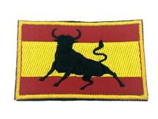 Spain Spanish Bull Flag Embroidered Airsoft Paintball Cosplay Patch