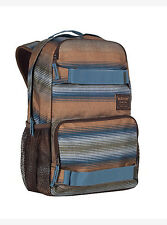 ZAINO BURTON TREBLE PACK 21L BEACH STRIPE PRINT BACKPACK SNOWBOARD PORTA SKATE