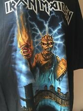 Iron Maiden Event Shirt Dated MSG Book Of Souls 3/30/2016