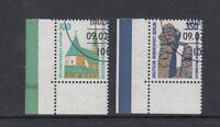 Berlin Mi-Nr. 834-835 gestempelt ESST - Bogenecke unten links