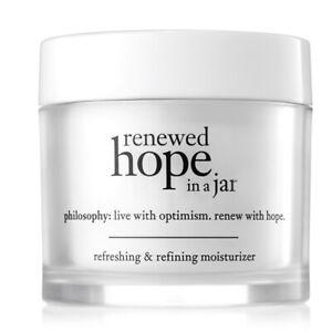 Philosophy Renewal Hope in a Jar 0.5 oz refreshing and refining moisturizer