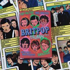 BRITPOP VOL.2 TRUMPS Card Game - 30 britpop bands(Shed Seven,Placebo,Radiohead)