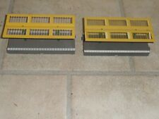 Hornby 00 gauge R.514 -R.585  platform canopies x2 with metal supports Used VGC