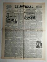 N345 La Une Du Journal Le journal 11 février 1913 la guerre et les puissances