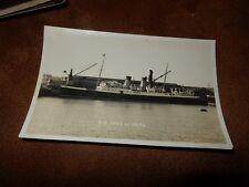 RP postcard - SS Isle of Sark  - Steamer ship - Shipping