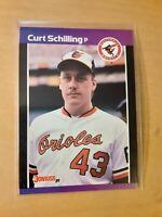 1989 Donruss Curt Schilling Baltimore Orioles #635 Rookie Baseball Card, SP, HOF